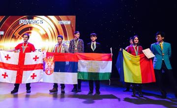 Халықаралық Жәутіков олимпиадасында еліміз командасы алғаш рет бас жүлде алды