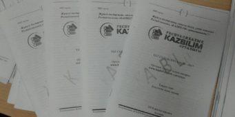 Жаңа форматтағы тест кітапшалары шықты…
