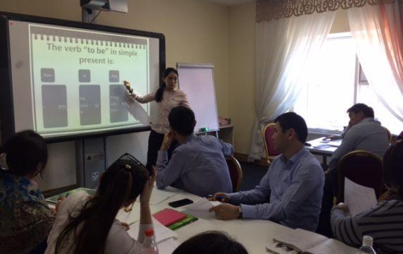 «USTAZ» білім беру орталығы ағылшын тілі курстарын бастайды