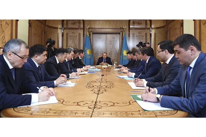 Нұрсұлтан Назарбаев: Бәріміз Қазақстанның игілігі үшін жұмыс істеуге тиіспіз