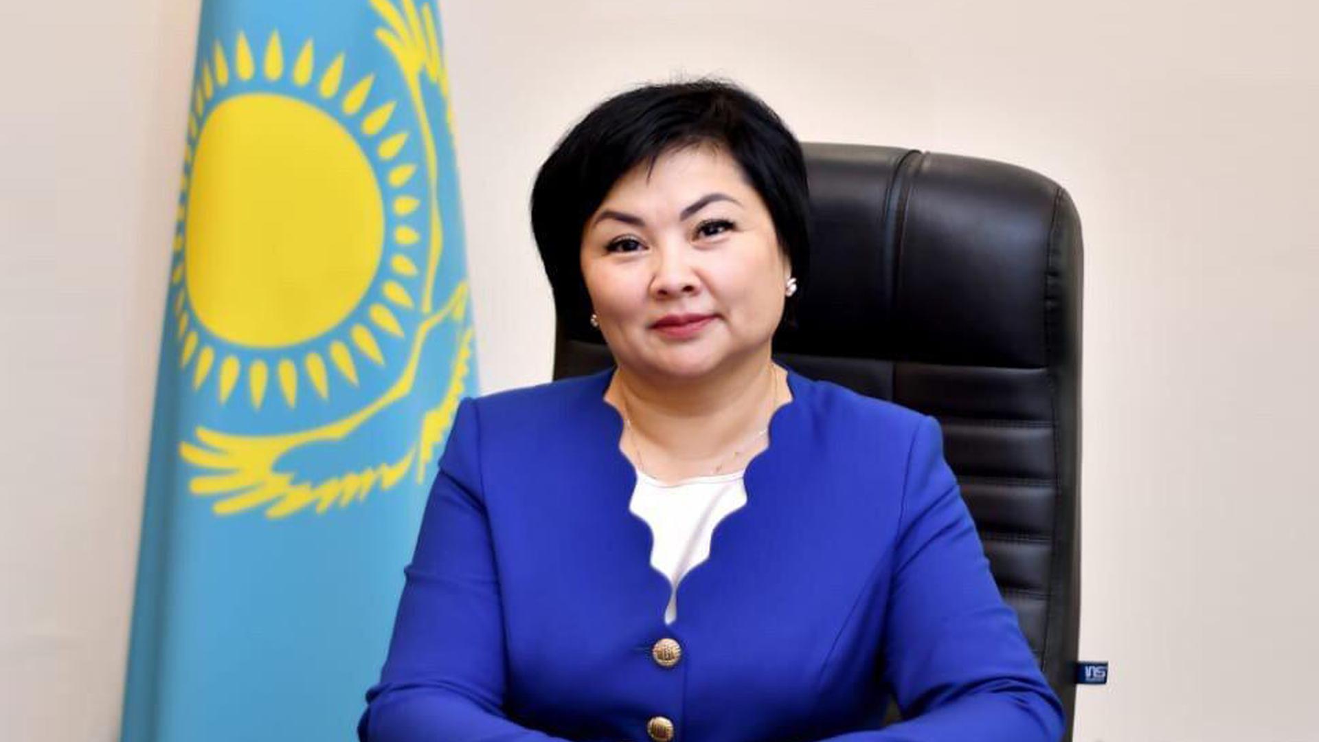 Шолпан Каринова ҚР білім және ғылым вице-министрі болып тағайындалды