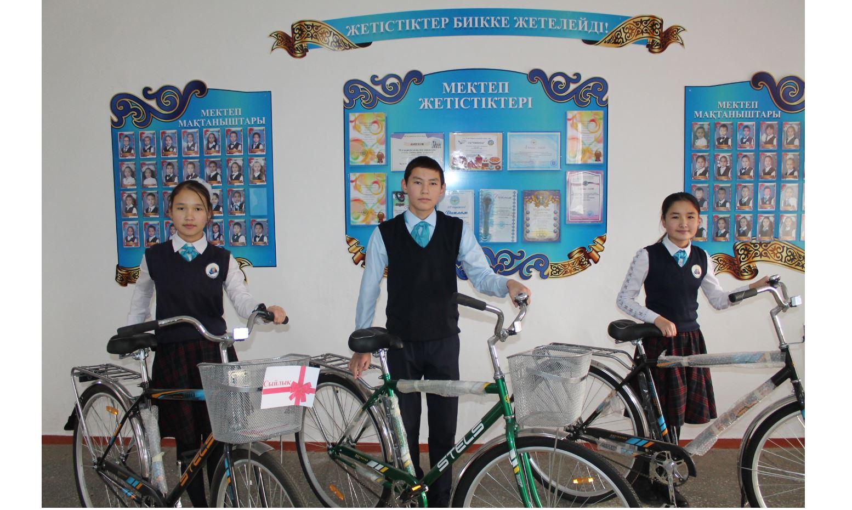 Кітап оқысаң, сыйлыққа – велосипед!