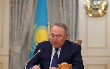Мемлекет басшысы Нұрсұлтан Назарбаевтың Қазақстан халқына үндеуі